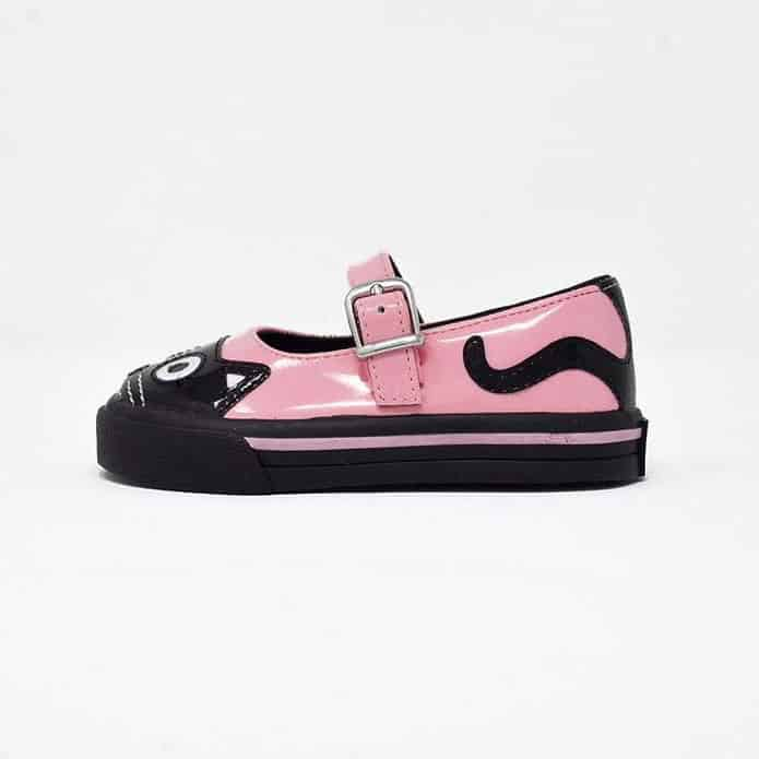 TUK Pink Kitty Mary Jane Toddler Sneaker A9726 1