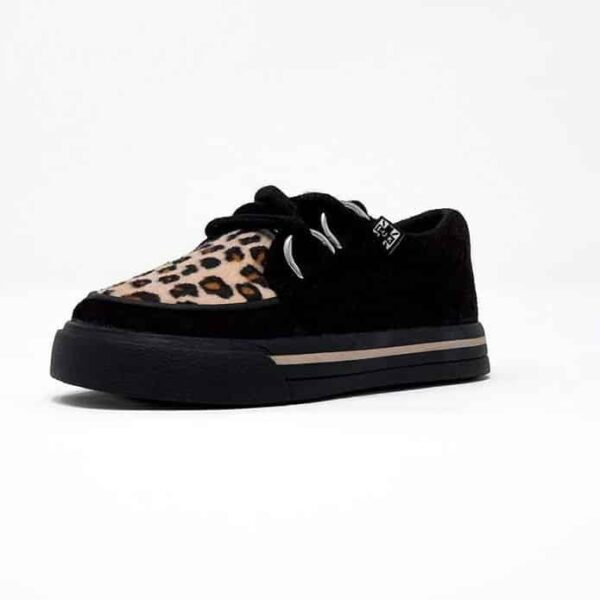 TUK Leopard Toddler Sneaker Creeper