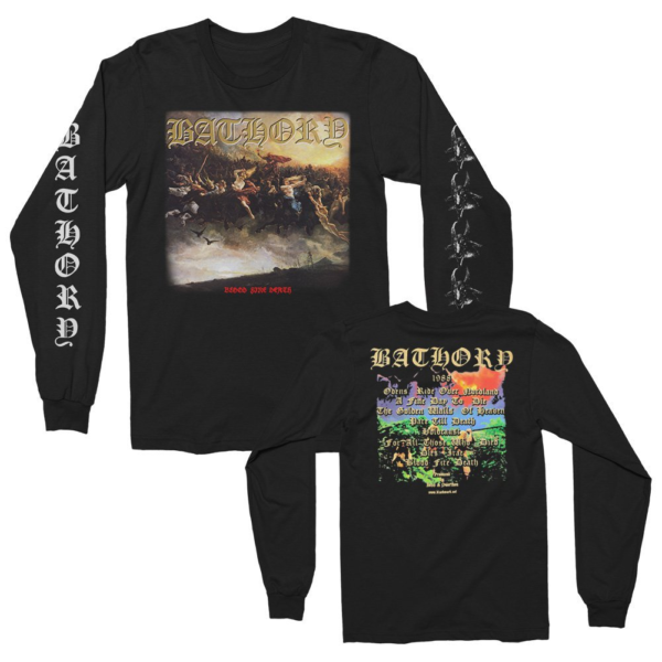 Bathory Blood Fire Death Long Sleeve