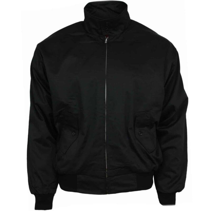 Harrington Jacket Black by Relco London 2