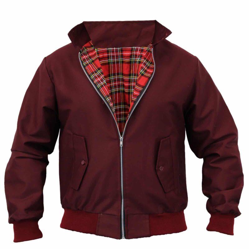 Harrington Jacket Burgundy