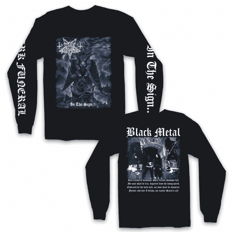 Dark Funeral In the Sign Long Sleeve Shirt