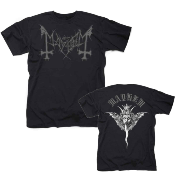 Mayhem Winged Demon T-Shirt