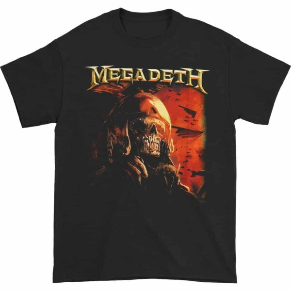 Megadeth Fighter Pilot T-Shirt
