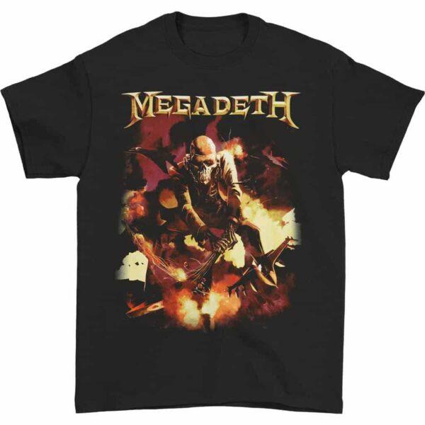 Megadeth Vic Guitar Smash T-Shirt