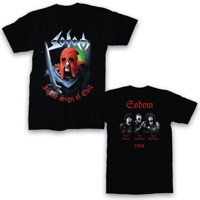 Sodom In the Sign of Evil T-Shirt