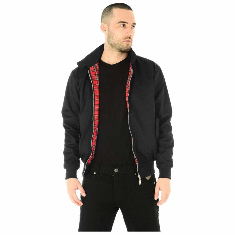 Harrington Jacket Black by Relco London 4