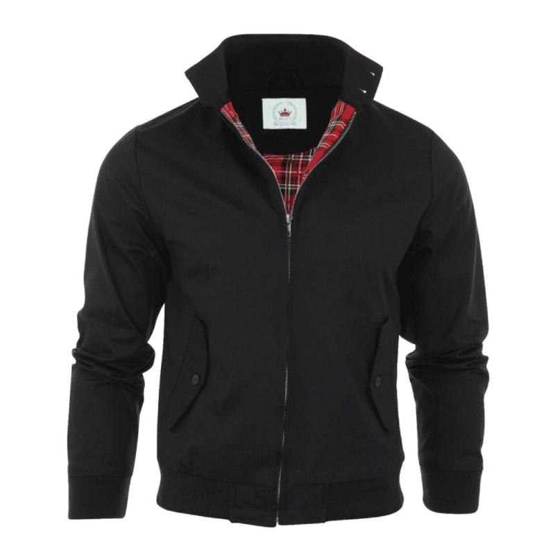 Harrington Jacket Black by Relco London 1