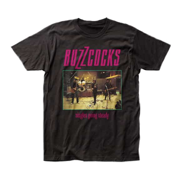 Buzzcocks Singles Going Steady T-Shirt