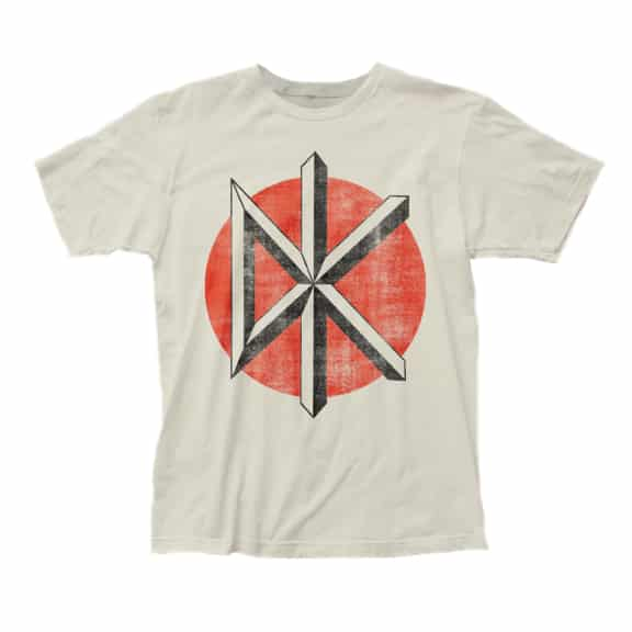 Dead Kennedys Distressed White T-Shirt