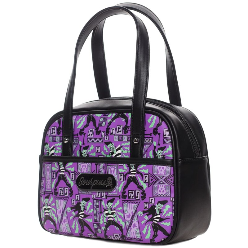 Frankie A Go Go Mini Bowler Purse by Sourpuss Clothing 1