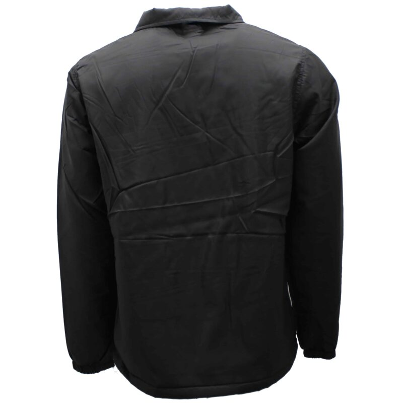 Black Sherpa Lined Windbreaker Jacket 1