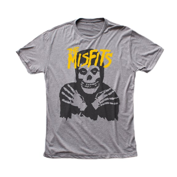 Misfits Crimson Ghost Gray T-Shirt