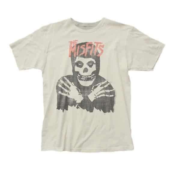 Misfits Crimson Ghost White T-Shirt