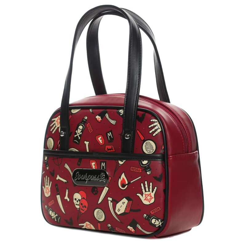 True Crime Mini Bowler Purse by Sourpuss Clothing 1