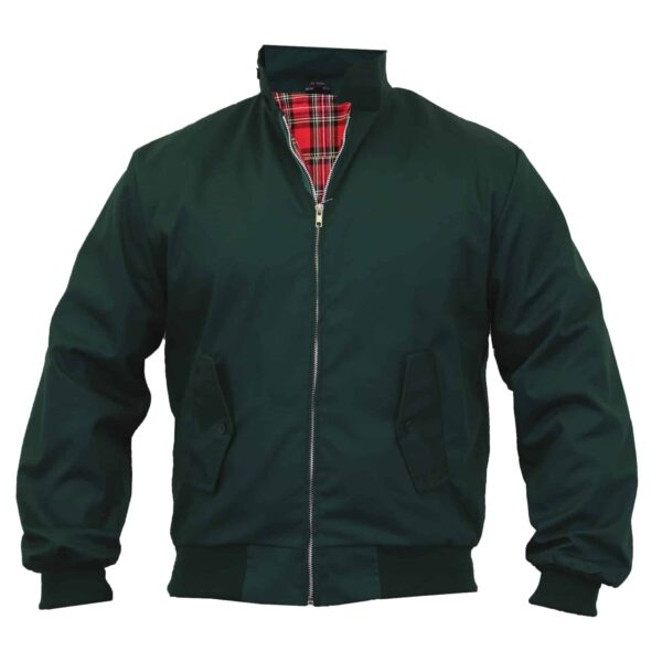Dark Green Harrington Jacket