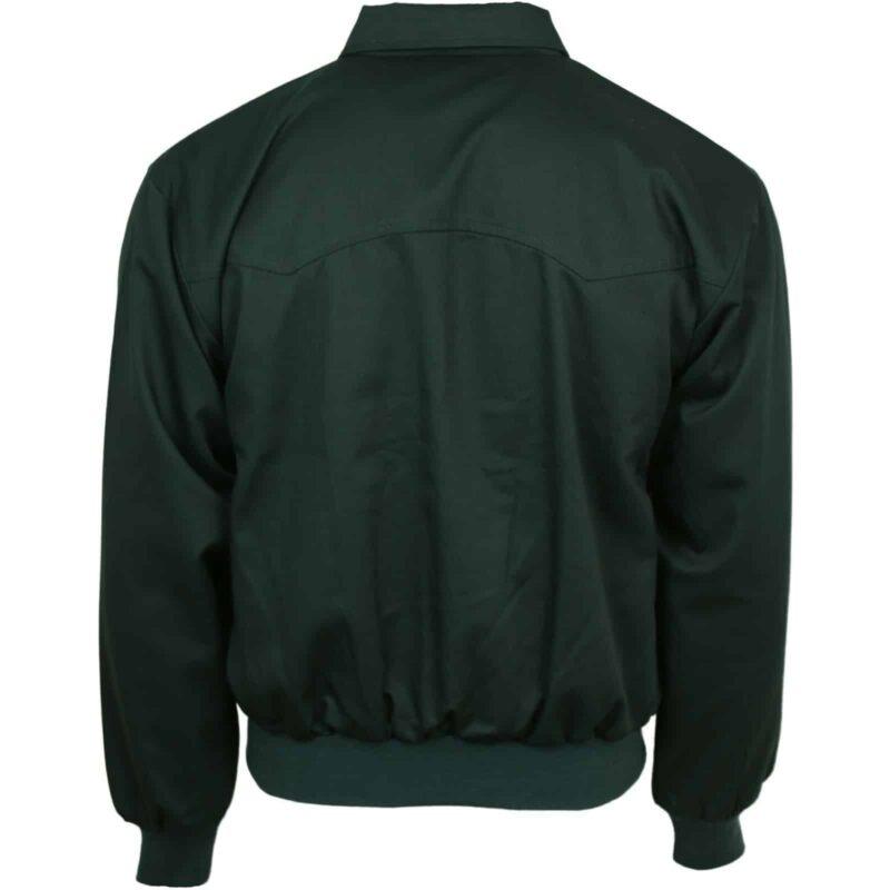 Dark Green Harrington Jacket by Relco London 2