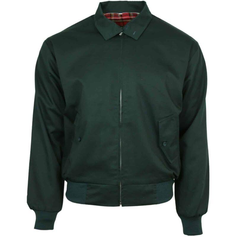 Dark Green Harrington Jacket by Relco London 1