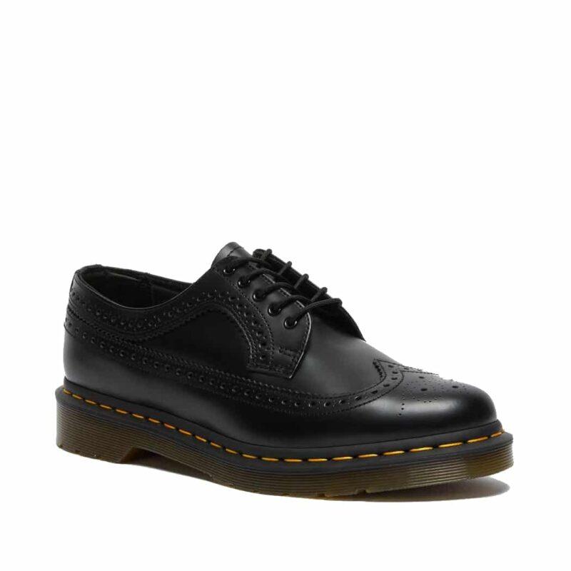 Dr. Martens 3989 Black Wingtip 5-Eye Shoe
