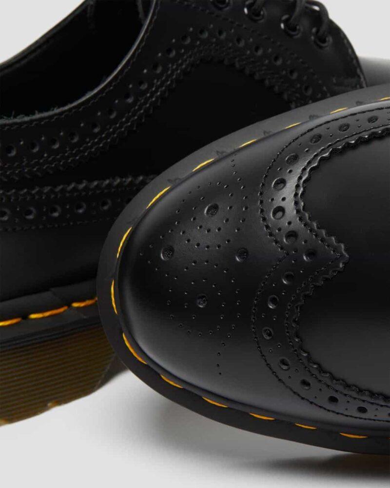 Dr. Martens 3989 Black Wingtip 5-Eye Shoe 4