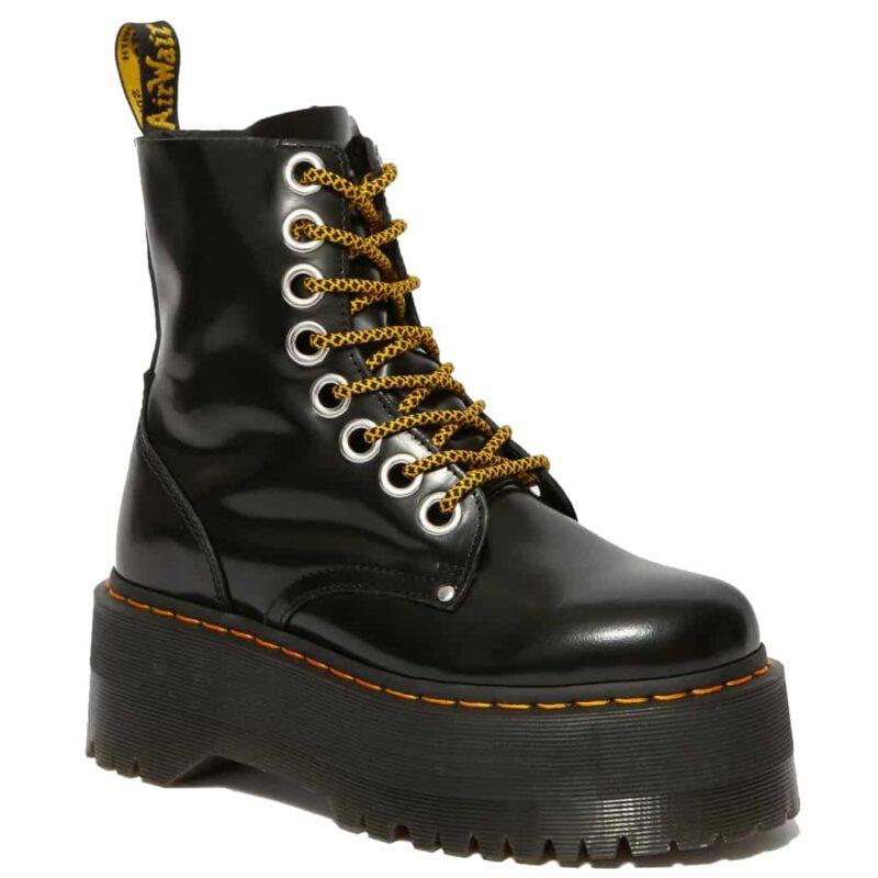 Dr. Martens Black Jadon Max Platform Boot