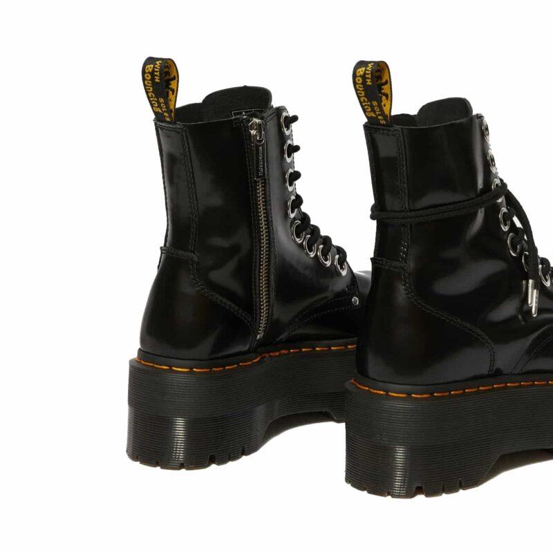 Dr. Martens Black Jadon Max Platform Boot 6