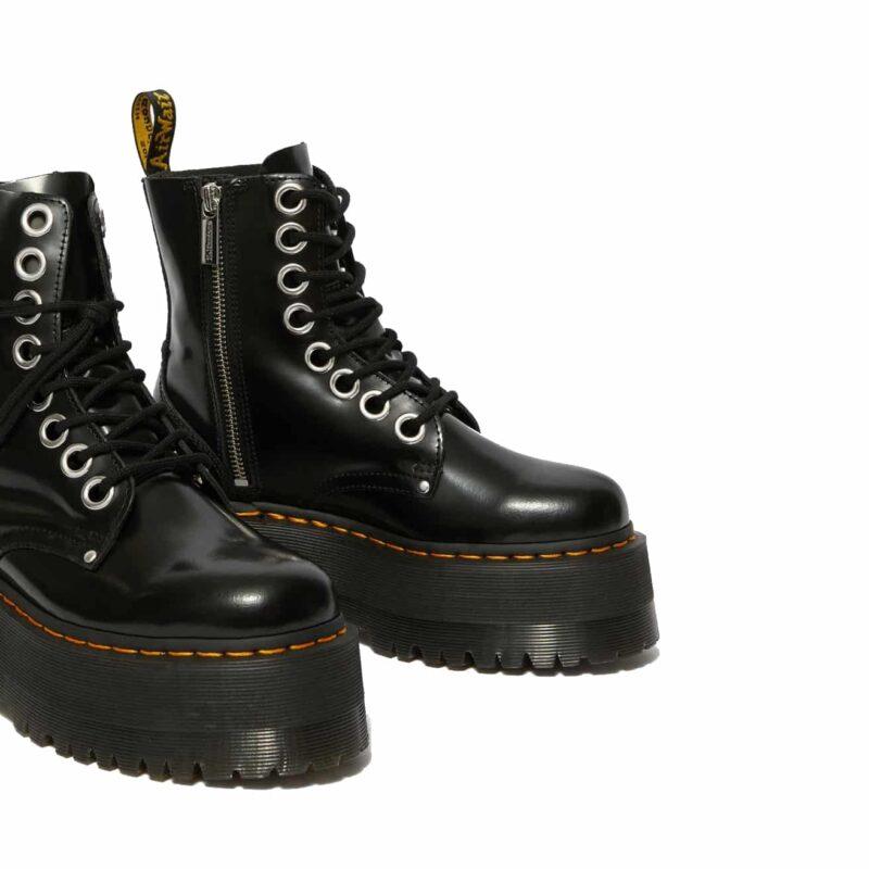 Dr. Martens Black Jadon Max Platform Boot 4