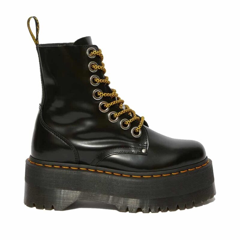 Dr. Martens Black Jadon Max Platform Boot 2