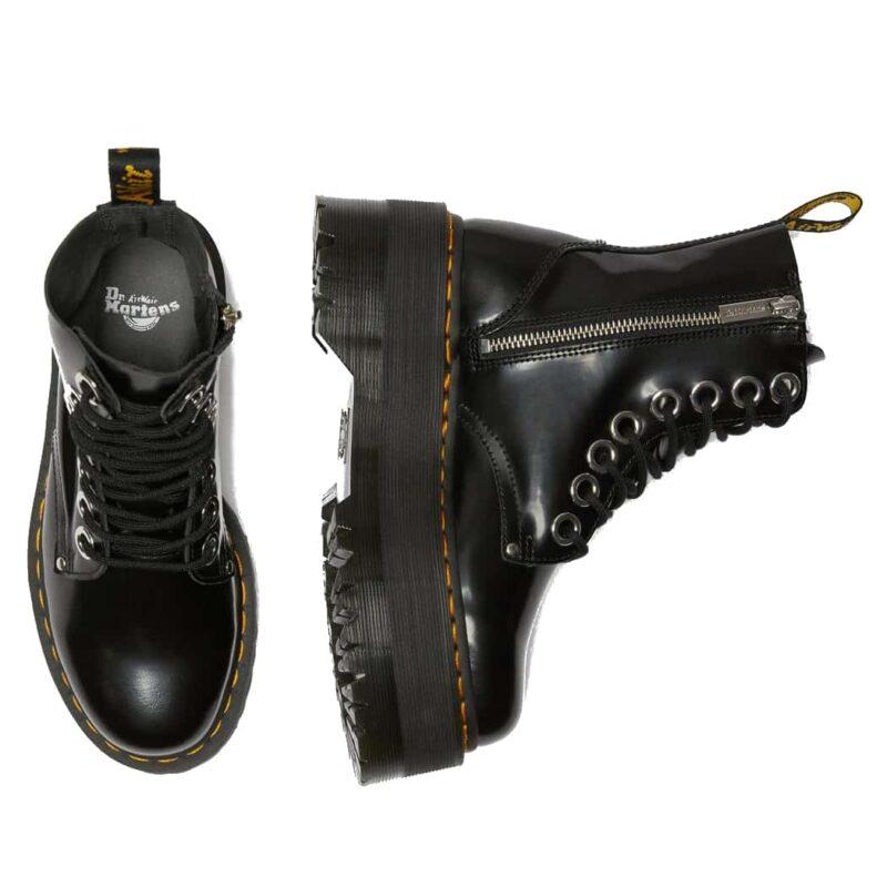 Dr. Martens Black Jadon Max Platform Boot 5