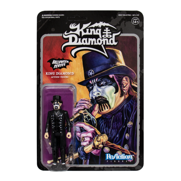 King Diamond Top Hat Figurine