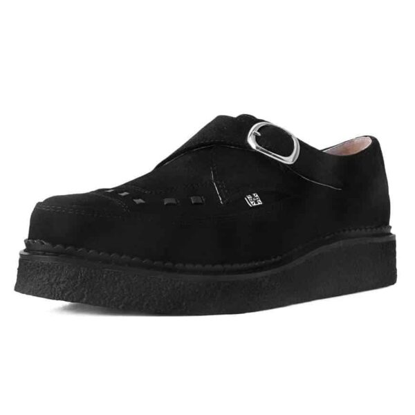TUK Black Suede Pointed Original Creeper