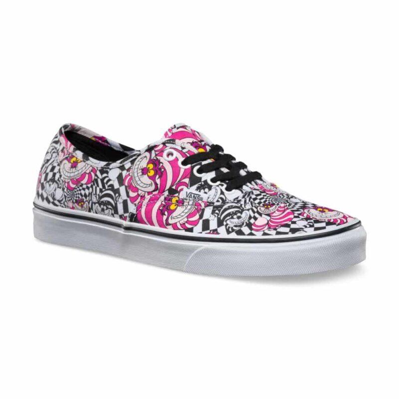 Vans Disney Authentic Cheshire Cat Shoe Black
