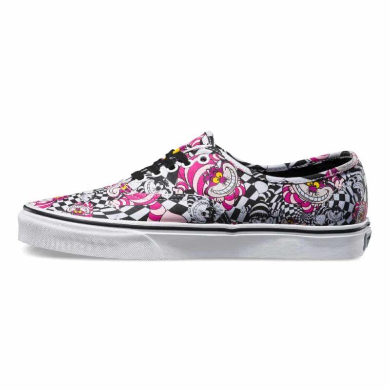 Vans Disney Authentic Cheshire Cat Shoe Black 1