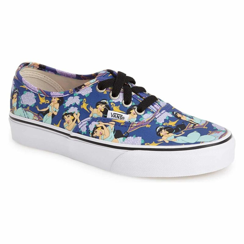 Vans Disney Authentic Princess Jasmine Shoe Deep Ultramarine