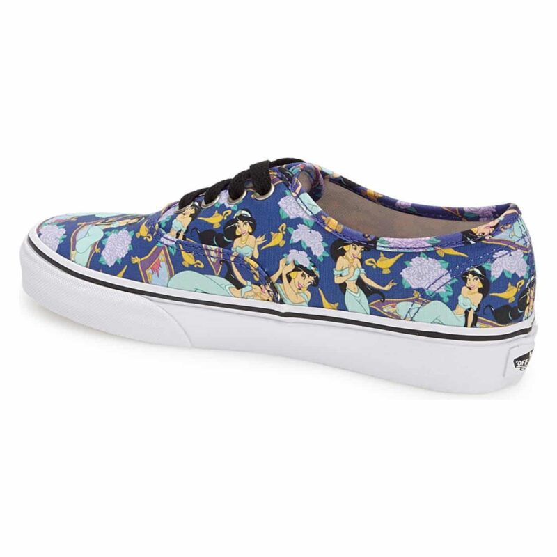Vans Disney Authentic Princess Jasmine Shoe Deep Ultramarine 2