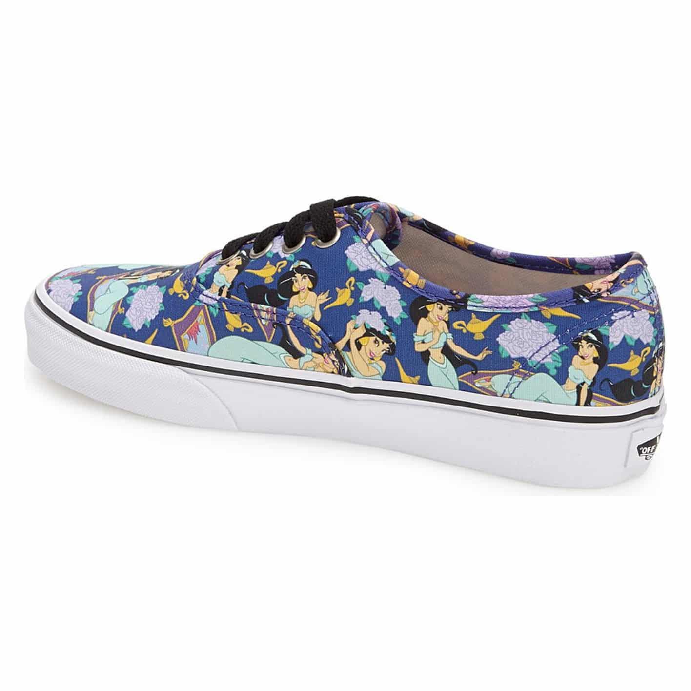 Vans Disney Authentic Princess Jasmine Shoe Deep Ultramarine