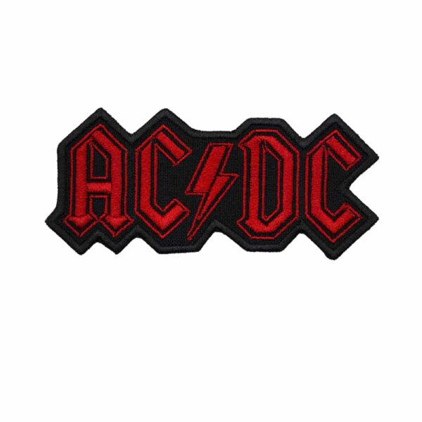 AC DC Embroidered Patch