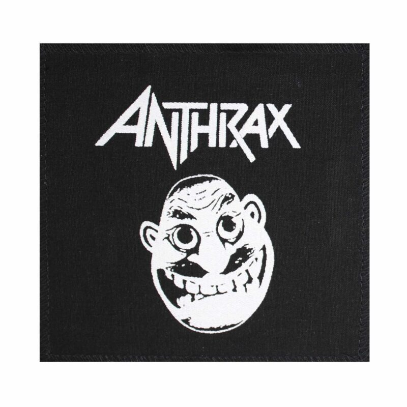 Anthrax Not Man Cloth Patch