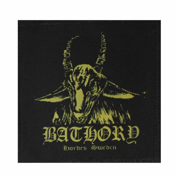 Bathory Hordes Sweden Yellow Patch