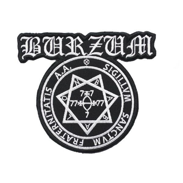 Burzum Sigillum Sanctum Fraternitatis Patch