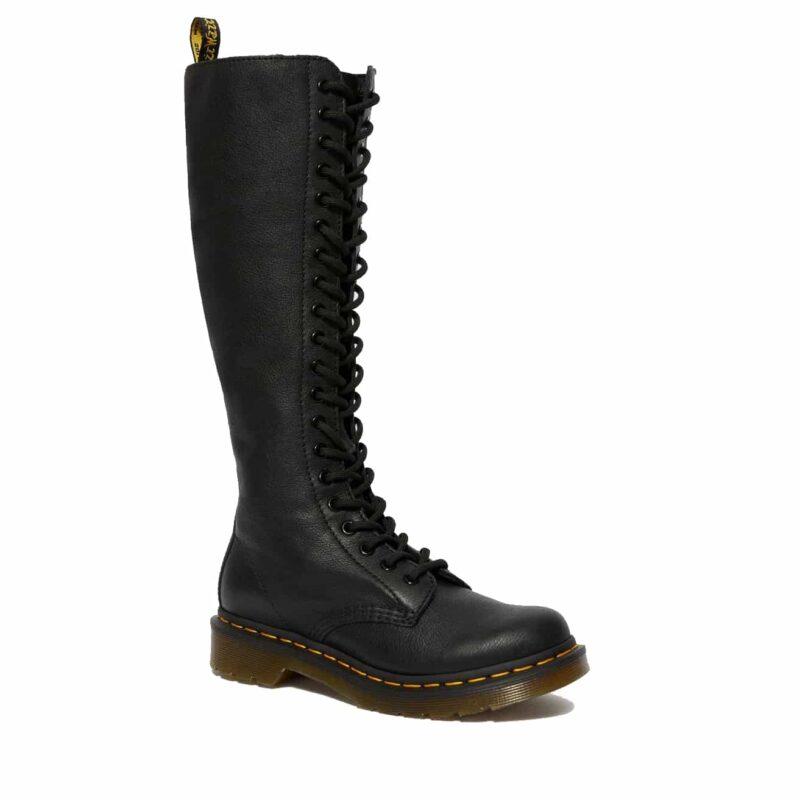 Dr. Martens 1B60 Black Virginia 20-Eye Boot