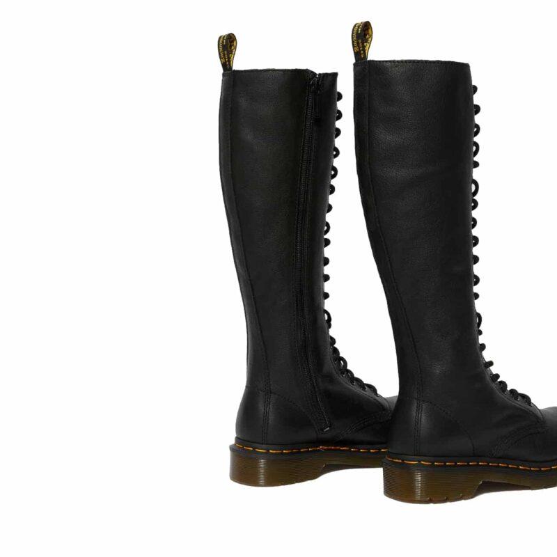 Dr. Martens 1B60 Black Virginia 20-Eye Boot 5