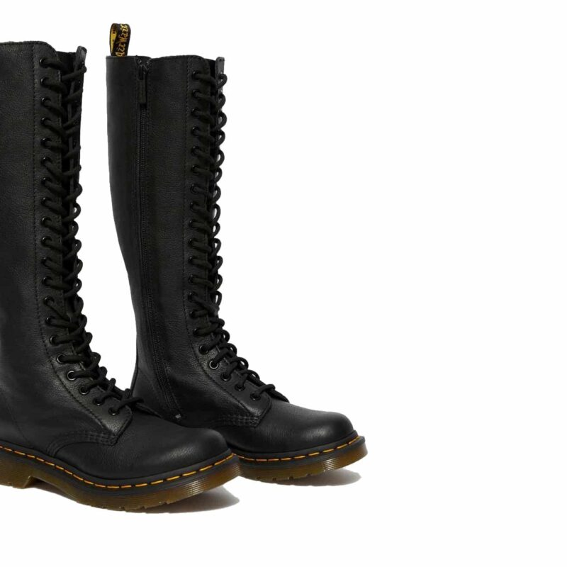 Dr. Martens 1B60 Black Virginia 20-Eye Boot 3