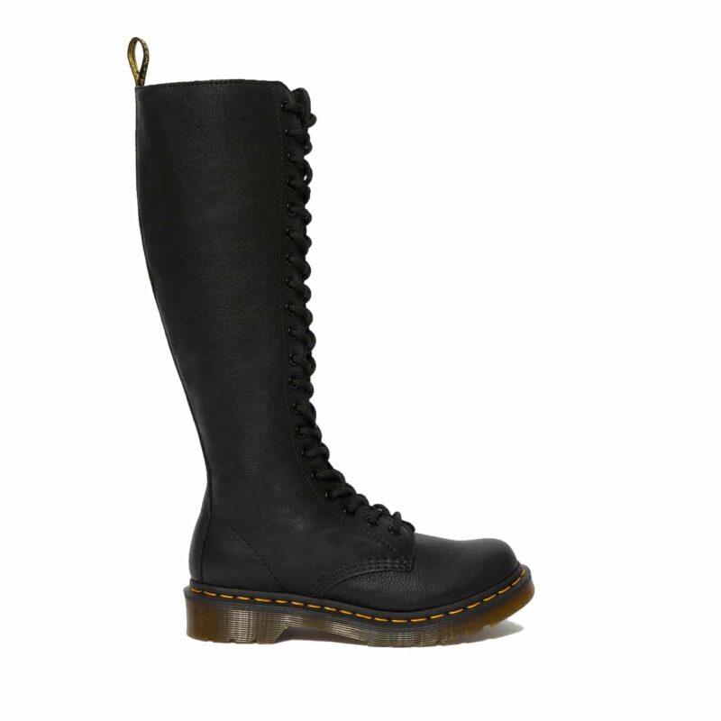 Dr. Martens 1B60 Black Virginia 20-Eye Boot 2