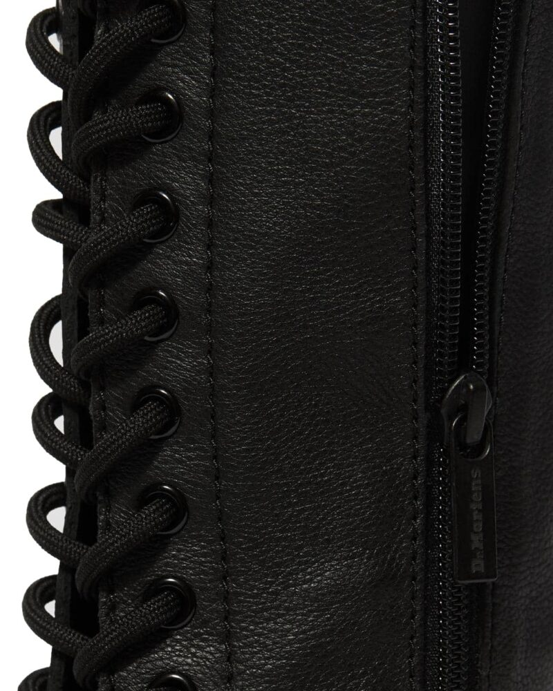 Dr. Martens 1B60 Black Virginia 20-Eye Boot 1