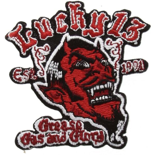 Lucky 13 Grease Gas Glory Patch