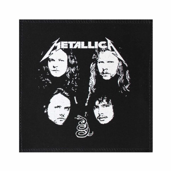 Metallica Band Members Cloth Patch