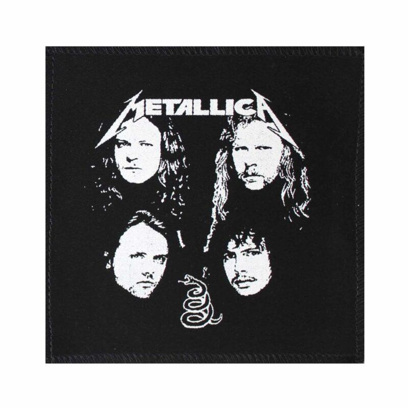 Metallica Band Members Cloth Patch