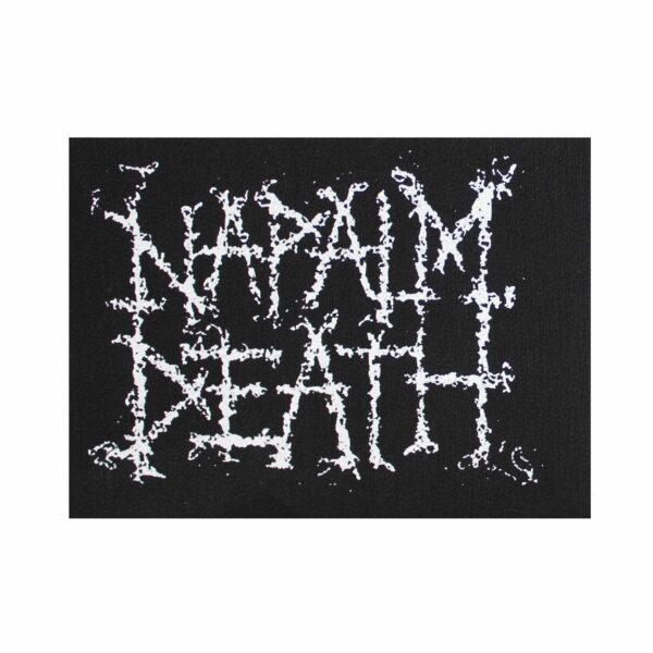Napalm Death Logo Cloth Patch