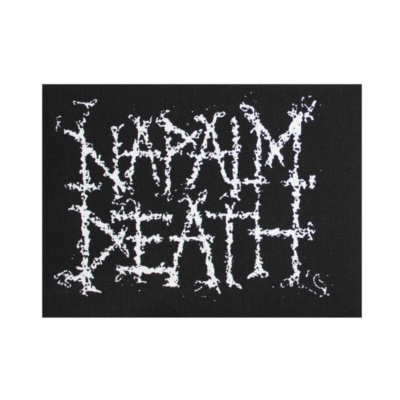 Napalm Death Logo Cloth Patch